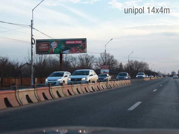 Campanie publicitara Cris-Tim. Unipol 14x4m